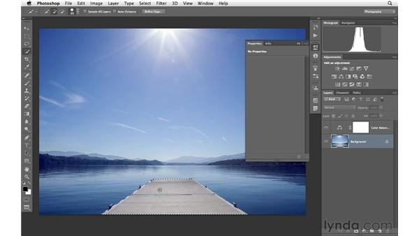 Using Color Balance and Curves to create vivid color: Photoshop for Photographers: Creative Effects