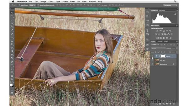 Increasing color, saturation, and glow with blending modes and filters: Photoshop for Photographers: Creative Effects