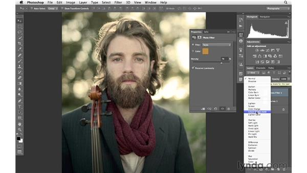 Setting yourself apart with artistic color: Photoshop for Photographers: Creative Effects