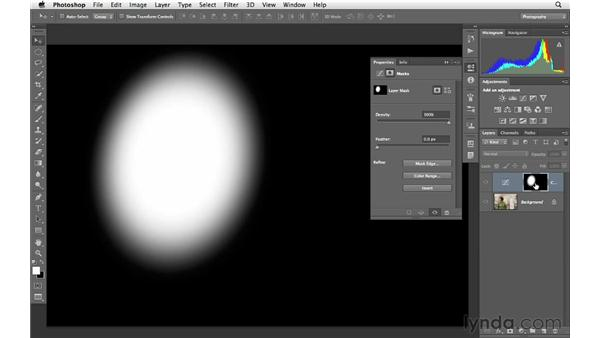 Adding light for emphasis: Photoshop for Photographers: Creative Effects