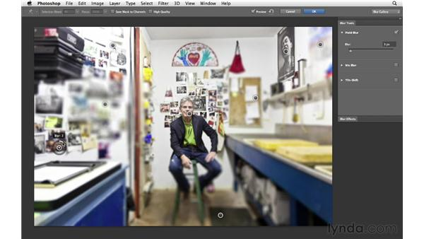 """Creating """"impossible"""" focus and blur with Field Blur: Photoshop for Photographers: Creative Effects"""