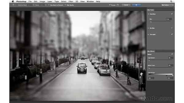 Adding Tilt-Shift to a cityscape: Photoshop for Photographers: Creative Effects