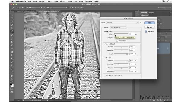 HDR toning and layer blending: Photoshop for Photographers: Creative Effects