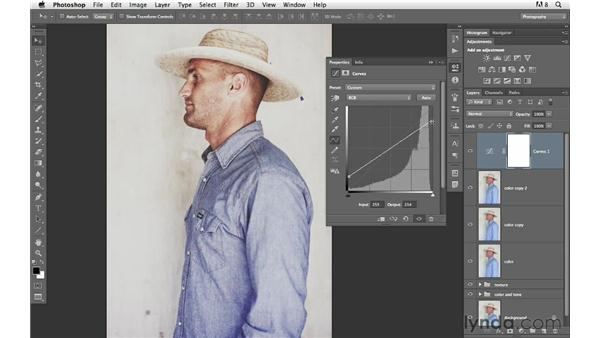 Creating a distinct color and tone: Photoshop for Photographers: Creative Effects