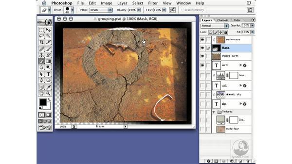 grouping ideas: Learning Photoshop 7