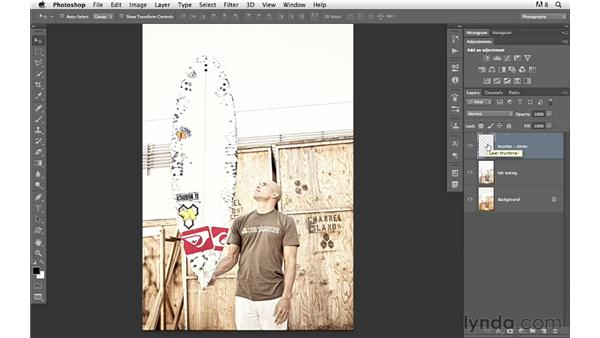 Finding and installing custom brushes: Photoshop for Photographers: Creative Effects