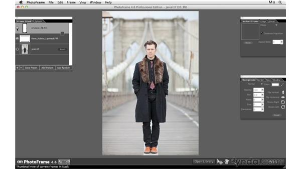 Adding borders with PhotoFrame from onOne: Photoshop for Photographers: Creative Effects