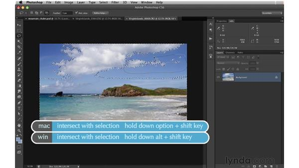 Extracting clouds: Digital Matte Painting: Changing a Scene From Summer to Winter