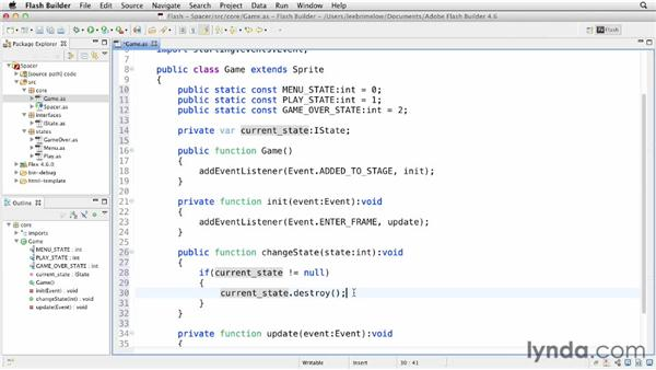 Building the state machine: Building Flash Games with Starling