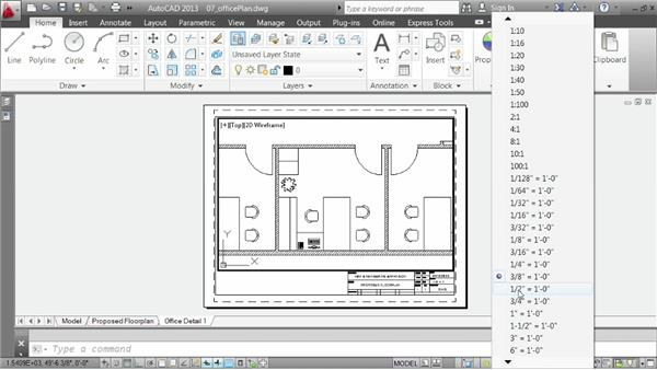 Organizing layouts: AutoCAD 2013 Essentials: 06 Sharing Drawings with Others