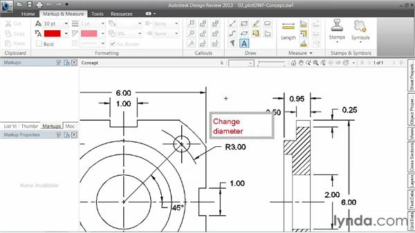 Plotting to the Design Web Format: AutoCAD 2013 Essentials: 06 Sharing Drawings with Others