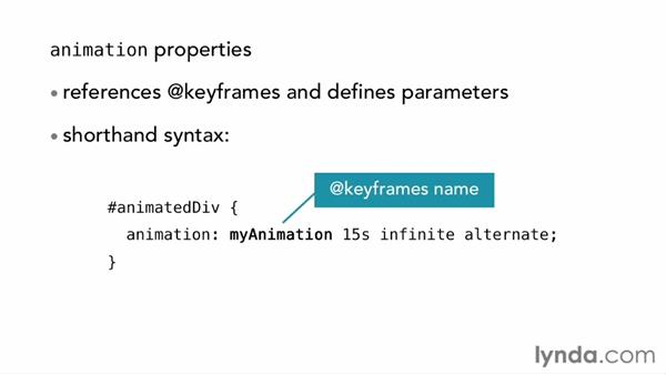 Understanding keyframes and animations: CSS: Transitions and Transforms