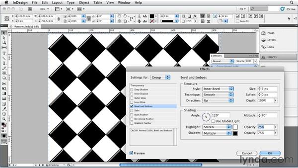 047 Creating Seamless Patterns: InDesign FX