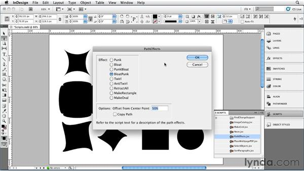 048 Using Scripts to Create New Shapes: InDesign FX