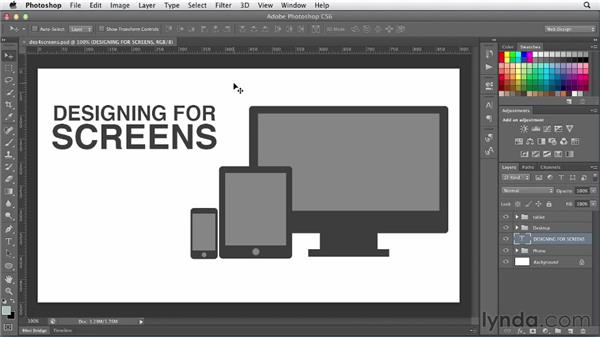 Designing for screens: Photoshop CS6 for Web Design (2012)