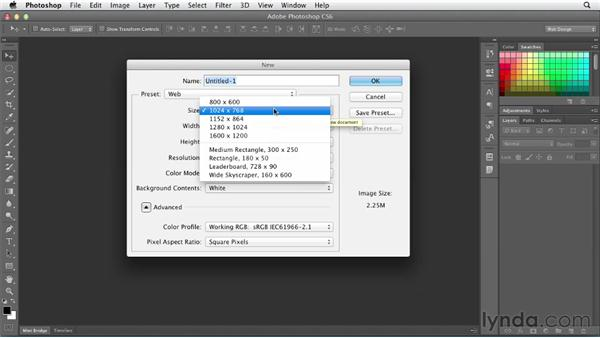 Creating email newsletter documents: Photoshop CS6 for Web Design (2012)