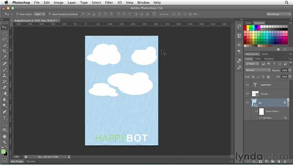 Working with Smart Objects: Photoshop CS6 for Web Design (2012)