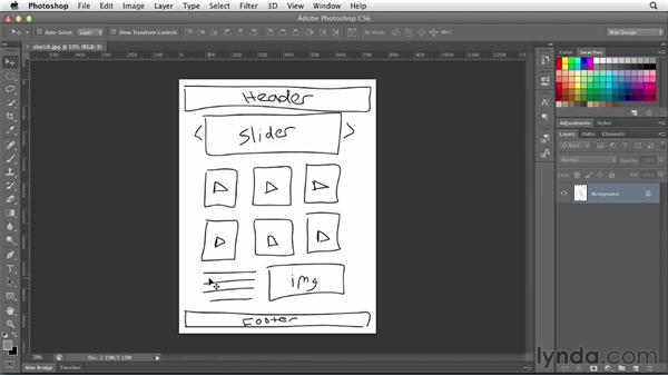 Planning your project: Photoshop CS6 for Web Design (2012)