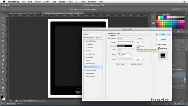 Understanding layer styles: Photoshop CS6 for Web Design (2012)