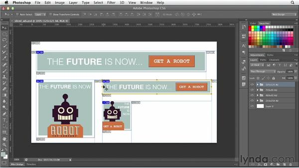 Understanding slicing: Photoshop CS6 for Web Design (2012)