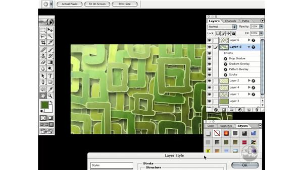 working the style part two: Learning Photoshop 7