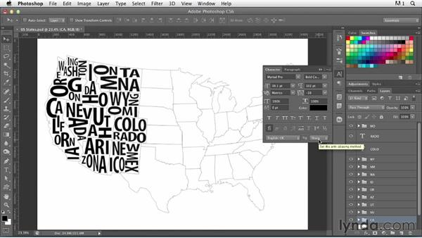 Welcome: Photoshop for Designers: Type Effects