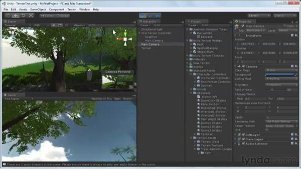 Using the First Person Controller: Unity 3D 3.5 Essential Training