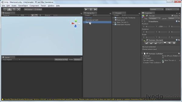 Introducing the game environment: Unity 3D 3.5 Essential Training