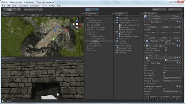 Reacting to messages: Unity 3D 3.5 Essential Training