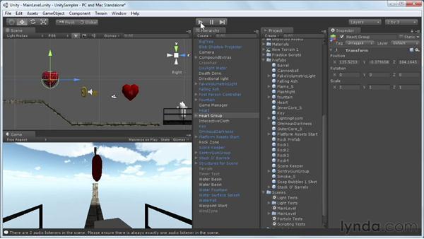 Avoiding keyframing pitfalls: Unity 3D 3.5 Essential Training