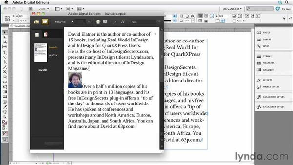 045 Inline graphic tricks with invisible paragraphs: InDesign Secrets