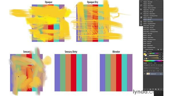 Understanding brush behaviors: Photoshop CS6 New Features: Brushes