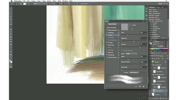 Cloning with natural media brushes: Photoshop CS6 New Features: Brushes