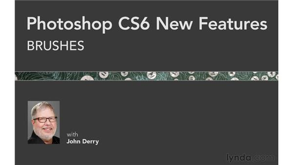 : Photoshop CS6 New Features: Brushes