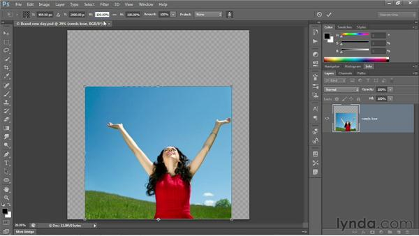 Protecting skin tones: Photoshop CS6 One-on-One: Intermediate