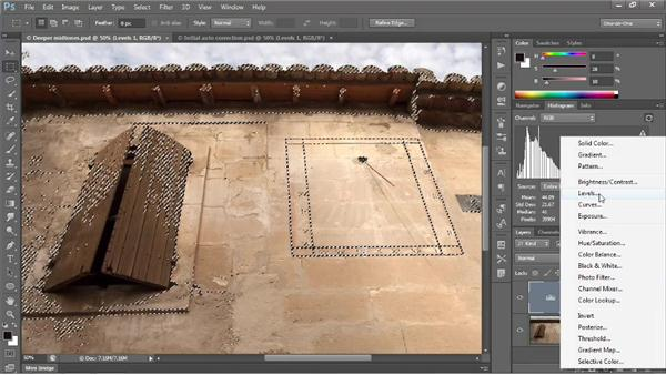 Opening up the shadows: Photoshop CS6 One-on-One: Intermediate