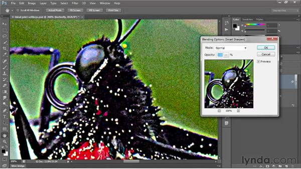 Addressing color artifacts and clipping: Photoshop CS6 One-on-One: Intermediate