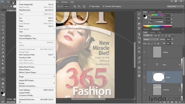 The other vector-based layer: Photoshop CS6 One-on-One: Intermediate