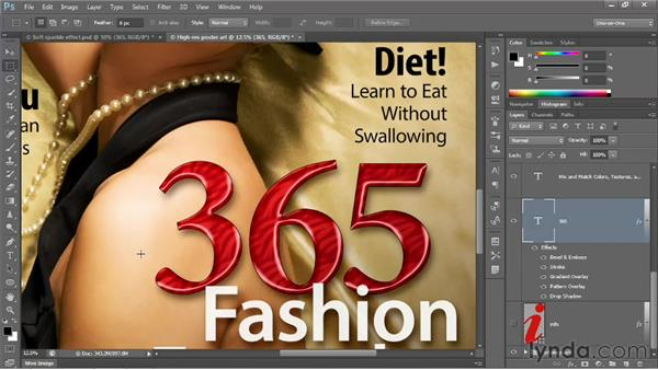 Turning a small image into a huge one: Photoshop CS6 One-on-One: Intermediate