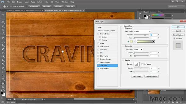 Saving custom default settings: Photoshop CS6 One-on-One: Intermediate