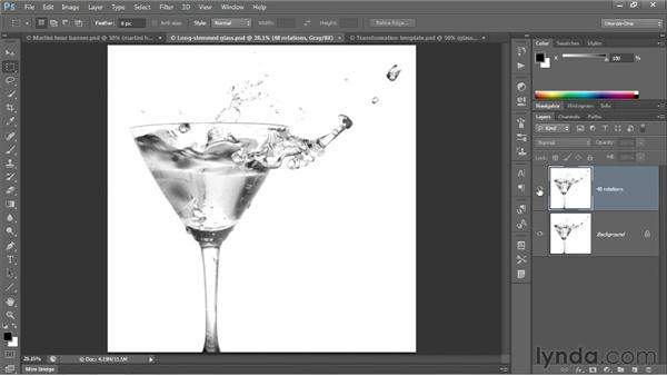 Transformation and Smart Objects: Photoshop CS6 One-on-One: Intermediate
