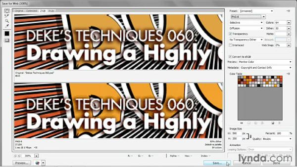 The two varieties of PNG: Photoshop CS6 One-on-One: Intermediate