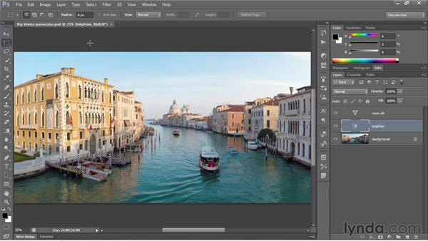 Downsampling for the web: Photoshop CS6 One-on-One: Intermediate