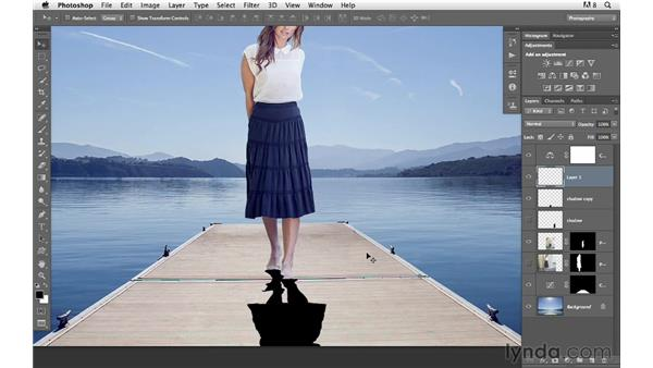 Creating realistic shadows: Photoshop for Photographers: Compositing