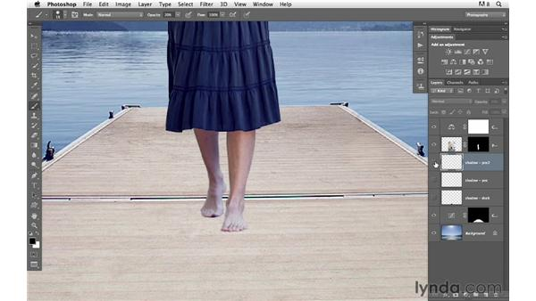 Adding a creative effect: Photoshop for Photographers: Compositing
