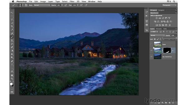 Painting in light: Photoshop for Photographers: Compositing