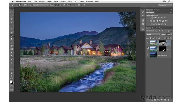 Brightening up the exposure: Photoshop for Photographers: Compositing
