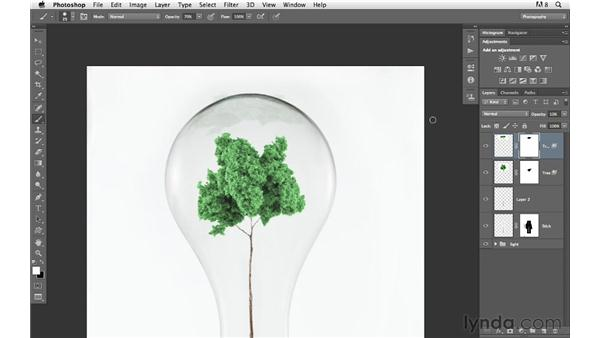 Creating reflections: Photoshop for Photographers: Compositing