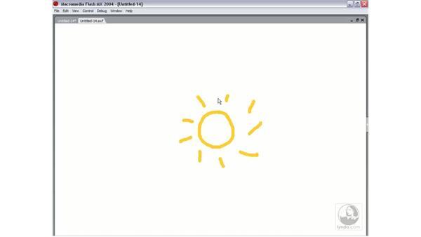 frame by frame animation: Flash MX 2004 Essential Training