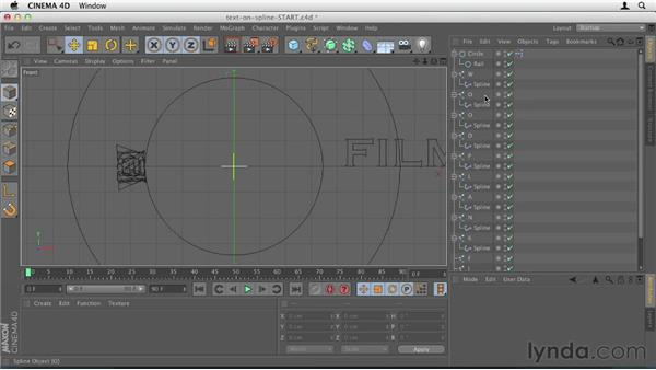 038 Animating circular text in Cinema 4D: Design in Motion